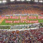 fiesta bowl 2019